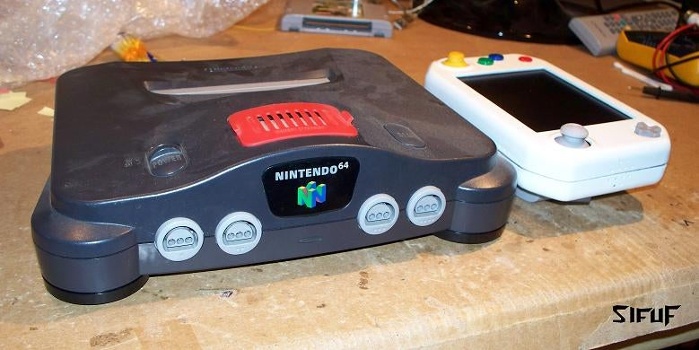 Tiny Portable N64 is A Battery Away from Perfection