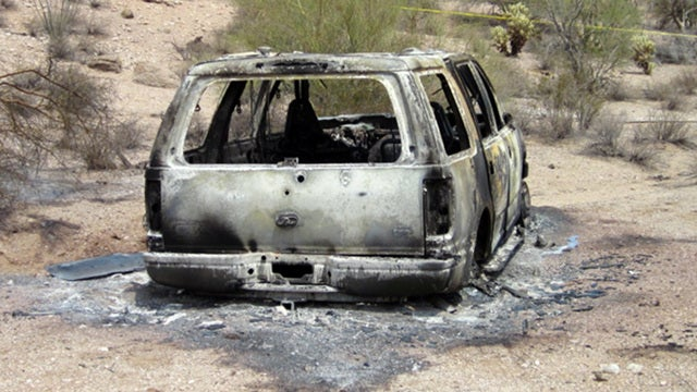 Burned SUV With Five Bodies Found in Arizona Desert