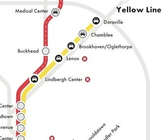 Asians 'Medium Upset' by Atlanta Color-Coding Their Subway Line 'Yellow'