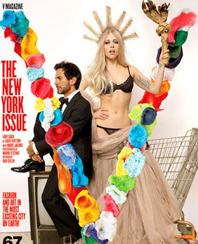 Lady Gaga And Marc Jacobs Share The Cover Of V