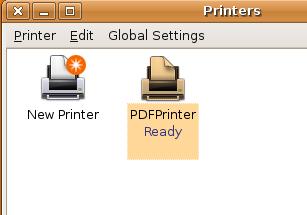 Print to PDF in Ubuntu