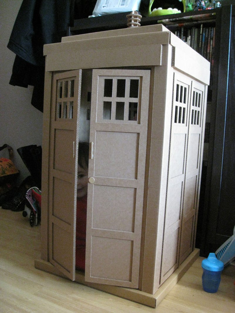 All of time, all of space, in a baby-sized TARDIS