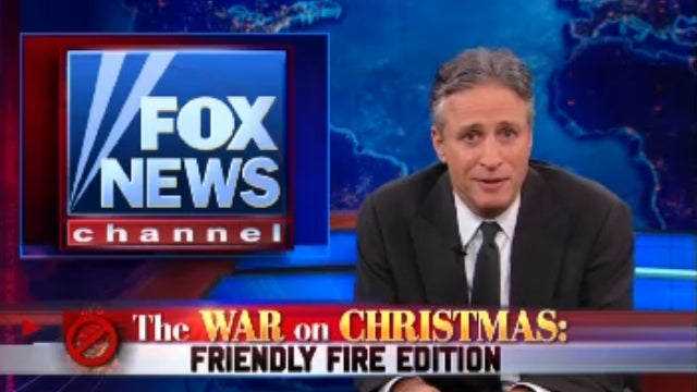 ICYMI: Jon Stewart Fires Back at Fox News' Annual 'War on Christmas' Uproar