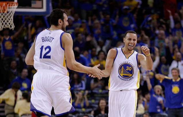 The Warriors' Best Lineups Are Killing The Rest Of The League