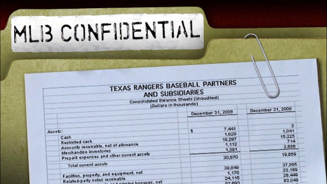 MLB Confidential, Part 3: Texas Rangers