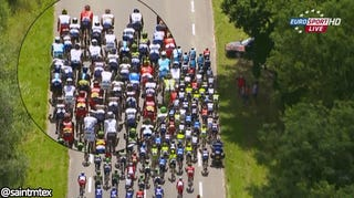 This Year, Everyone At The Tour De France Is Crashing Out