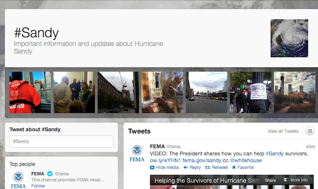 There Are 20 Million Tweets About the Hurricane (And Counting)
