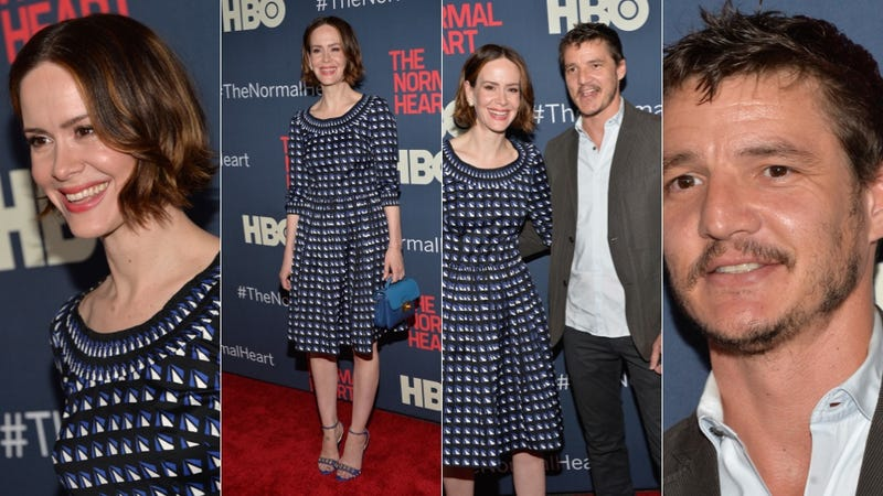 Cute Springy Dresses and Horrible Jackets at The Normal Heart Premiere