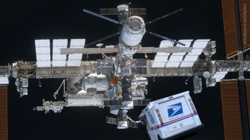 What's the Mailing Address of the International Space Station?
