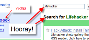 Google Reader Supports Search Operators