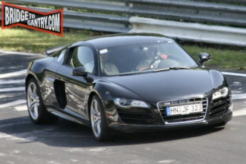 2009 Audi R8 V10 Production-Ready On The 'Ring