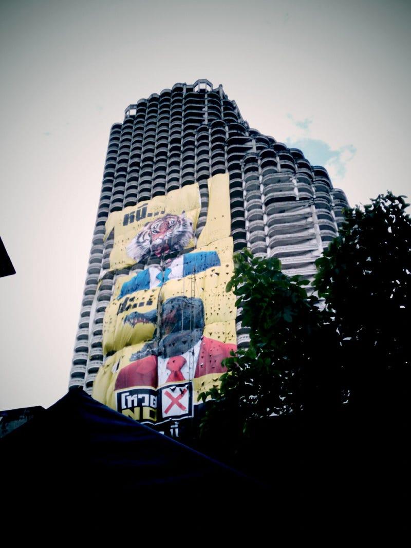 Inside Bangkok's Abandoned, Half-Finished Ghost Tower