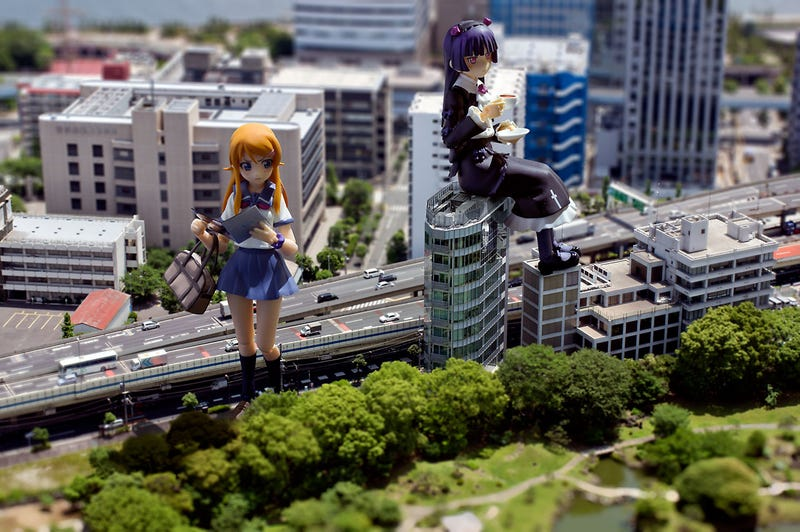 Tokyo Was Made for Giant Monsters, Giant Girls, and Camera Tricks