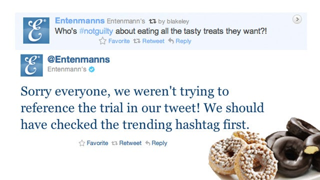 Entenmann's Compares Eating Donuts to Murdering Child