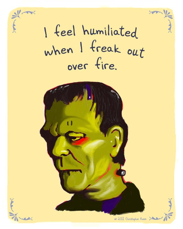 What if the Creature from the Black Lagoon used PostSecret?
