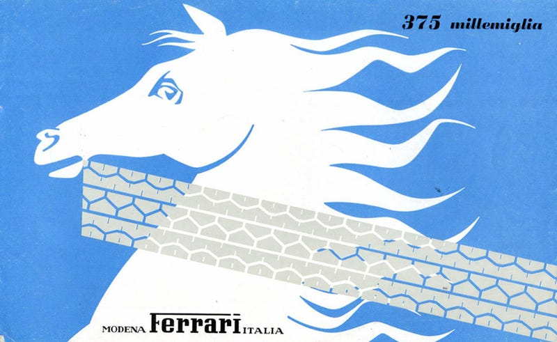 Just Look At These 1950s Ferrari Brochure Covers