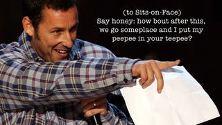 These Are the Jokes That Caused Actors To Walk Off Adam Sandler's Set