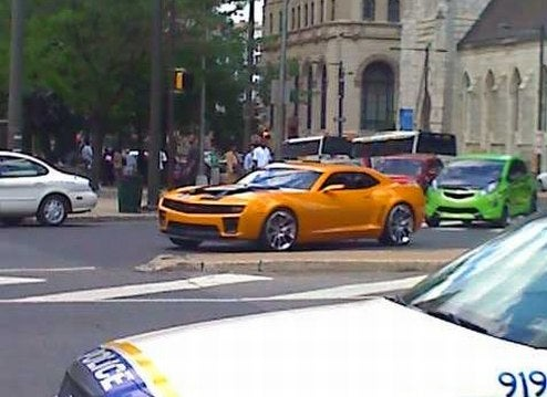 Bumblebee And Chevy Beat Racing Around Philly