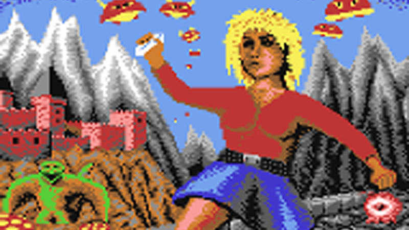 A Visual History of Attractive Video Game Characters: The 80s