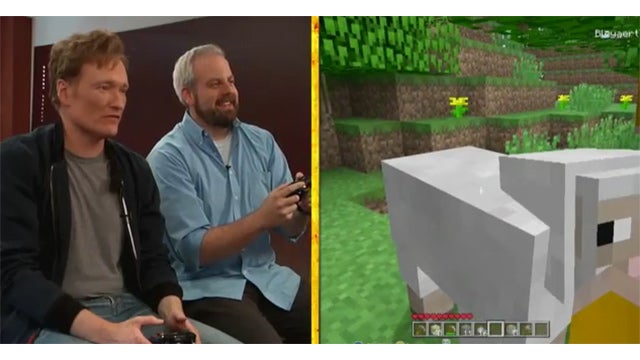 Conan Plays Minecraft, Trolls Graphics
