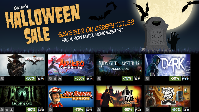 The Steam Halloween Sale