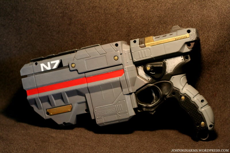 These Amazing Video Game Guns Actually Fire