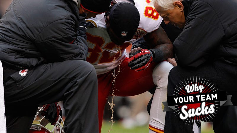 Why Your Team Sucks 2013: Kansas City Chiefs