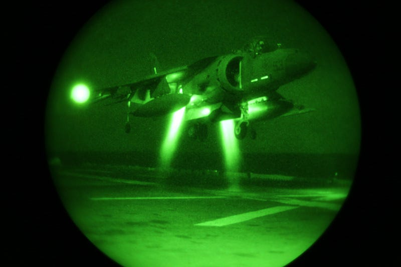 This May Be the Coolest Night Landing Scene In the History of Aviation