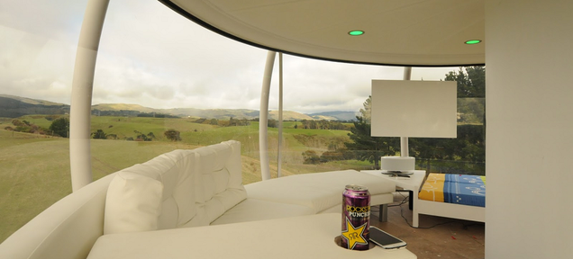 New Zealander's Self-Built 'Skysphere' Is The Retreat Of Your Dreams