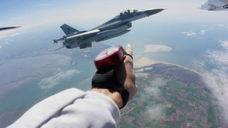 I Went Skydiving With An F-16