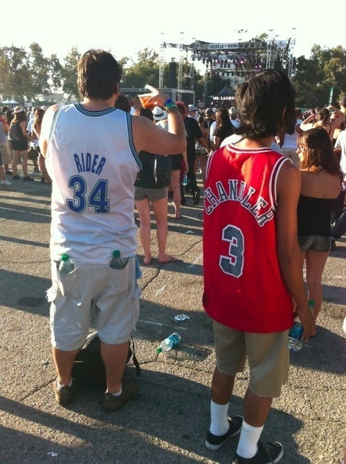 "Look At This Fucking Hoopster: ""Isaiah Rider"" And ""Tyson Chandler"" Hang At Rock The Bells"