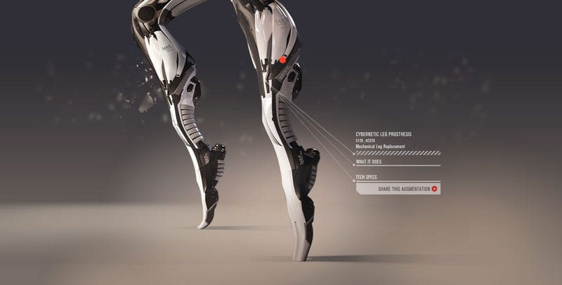 Deus Ex's Cyborg Future Is Oh So Pretty