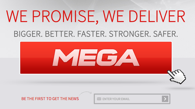 Surprise! Kim Dotcom's New Mega-Site Looks Like a P2P Client