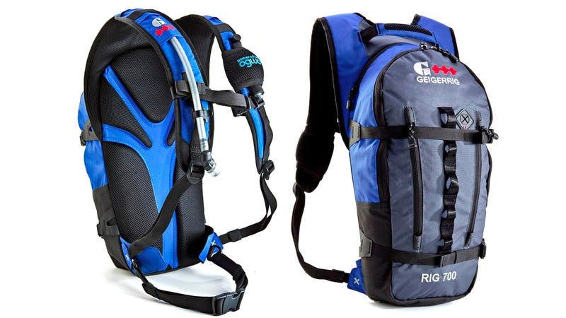 Pump Up This Pressurized Hydration Pack So You Never Have To Suck