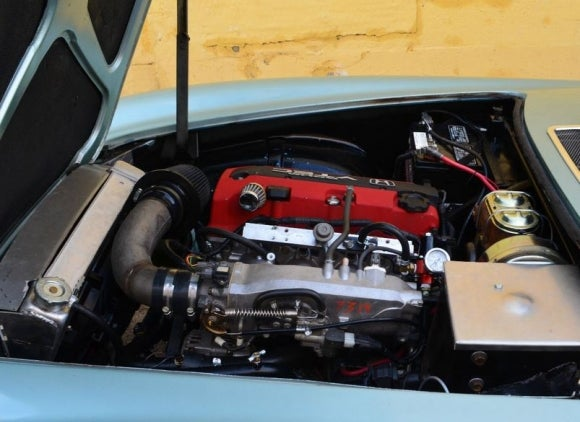 An Volvo 1800ES with an Honda S2000 powertrain? Yes please!