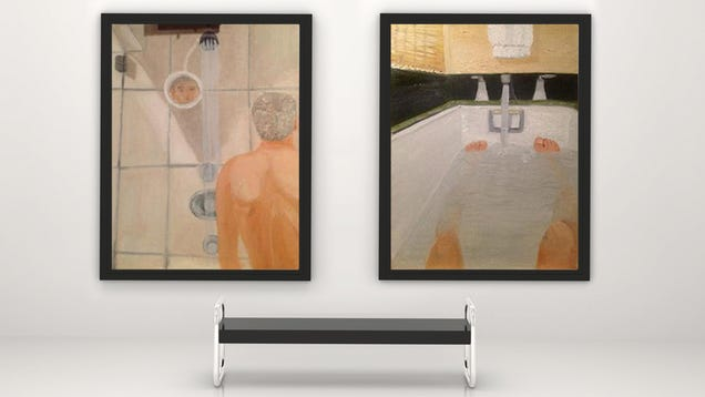 George W. Bush Is An Outsider Artist, Standing Apart From History, Naked