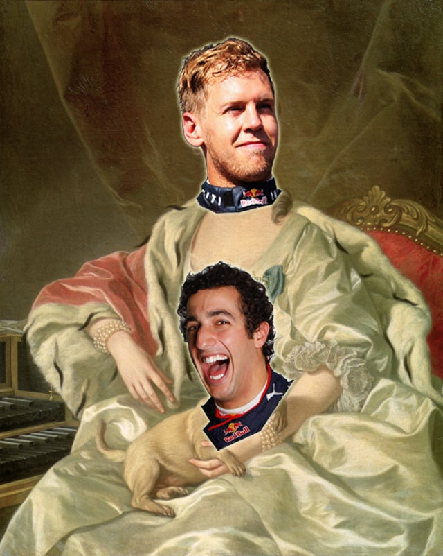 Sebastian Vettel's Next Teammate Will Be An Australian Lap Dog