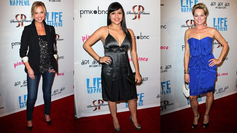 Phoebe Price Livens Up the Red Carpet at L!fe Happens Premiere