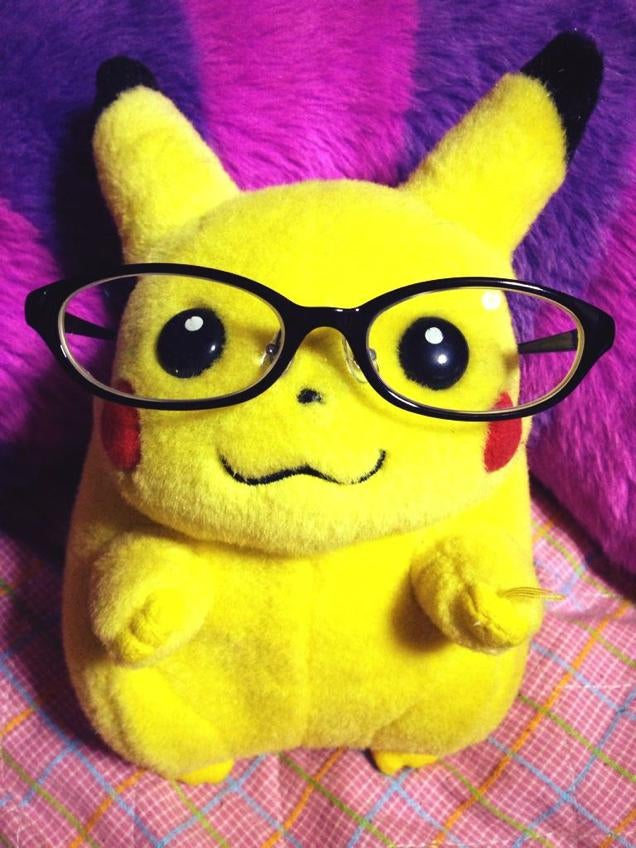Pokémon Wearing Glasses Is a Meme