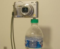 DIY water-bottle tripod