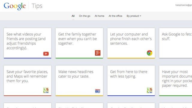 Google Tips Offers Tricks and Ideas for How to Use Google Services