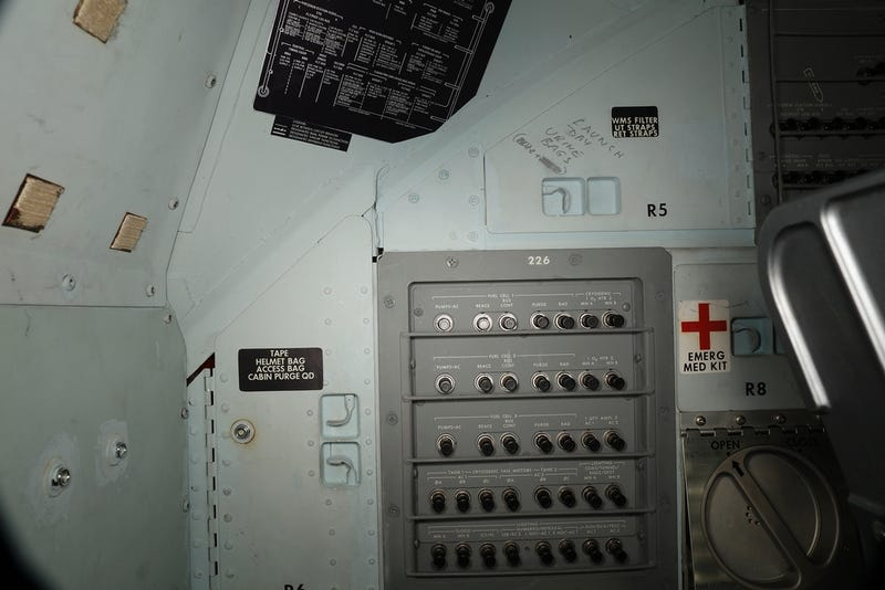 Smithsonian Uncovers Apollo 11 'Graffiti' Not Seen in Decades