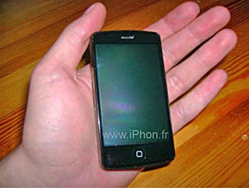 Alleged 3G iPhone Looks Like Le Fake, Le Merde