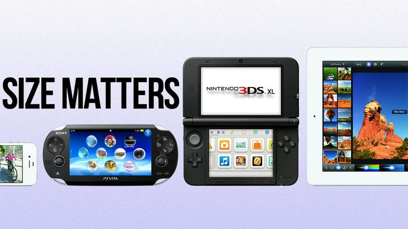 Let's See How Nintendo's New 3DS XL Sizes Up to the Competition