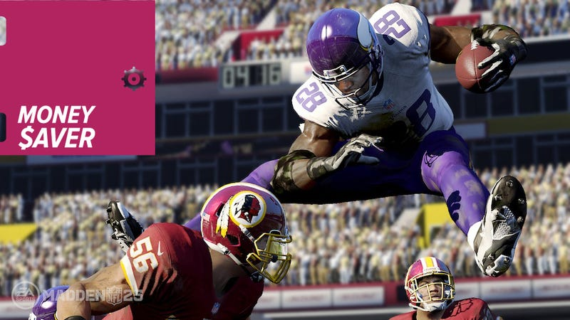 Moneysaver: Madden 25 + NFL Sunday Ticket, SteelSeries Keyboard, PS+