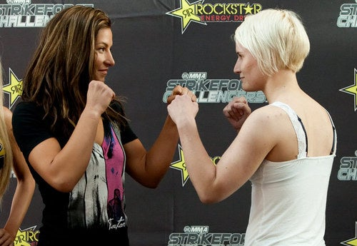 Tonight, Female MMA Fighters Smack Down Opponents, Sexism