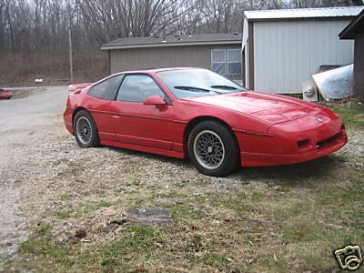1988 Pontiac Fiero Formula for $5,000?