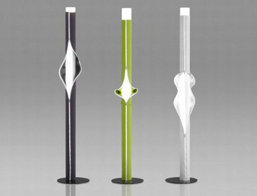 Zipper Lamps Strip Down to Light Up