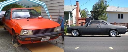 Index Of Effluency Bar Set Unreasonably High For Thunderhill: Peugeot 505 Turbo or Chevy Corvair?