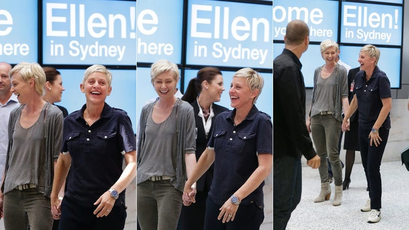 Portia and Ellen DeGeneres Are Ridiculously Adorable